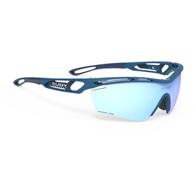 Rudy Project Tralyx Occhiali, pacific blue matte/multilaser ice